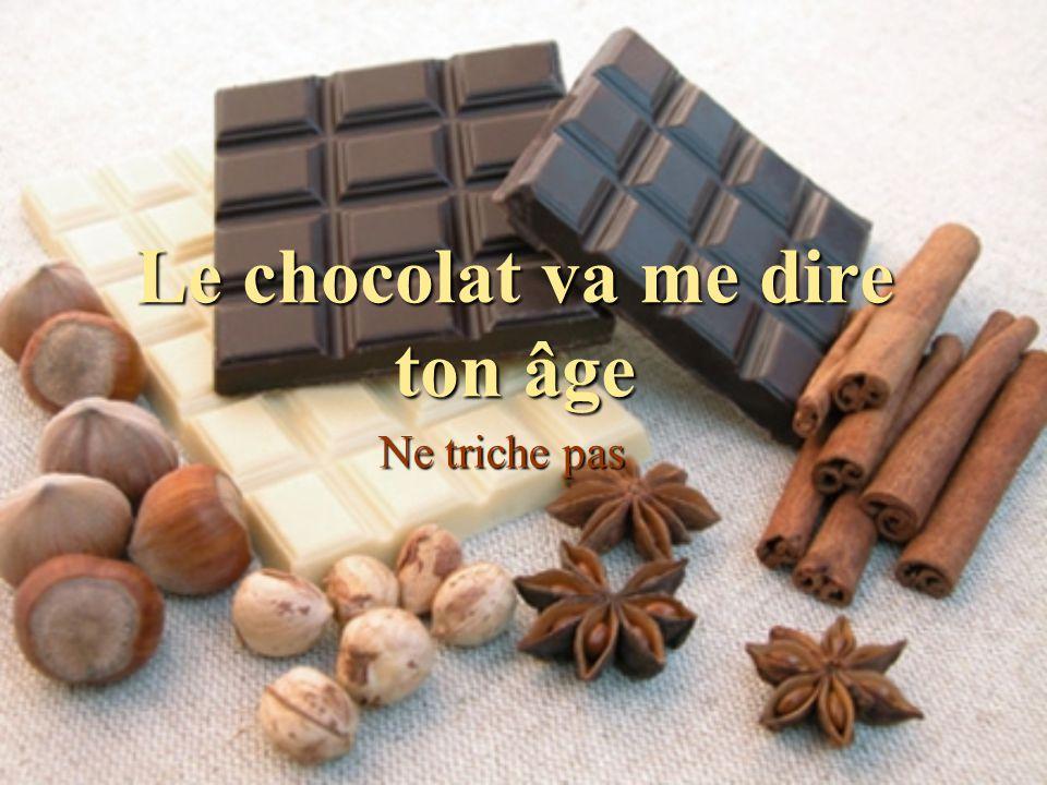 La vérité sort du Chocolat