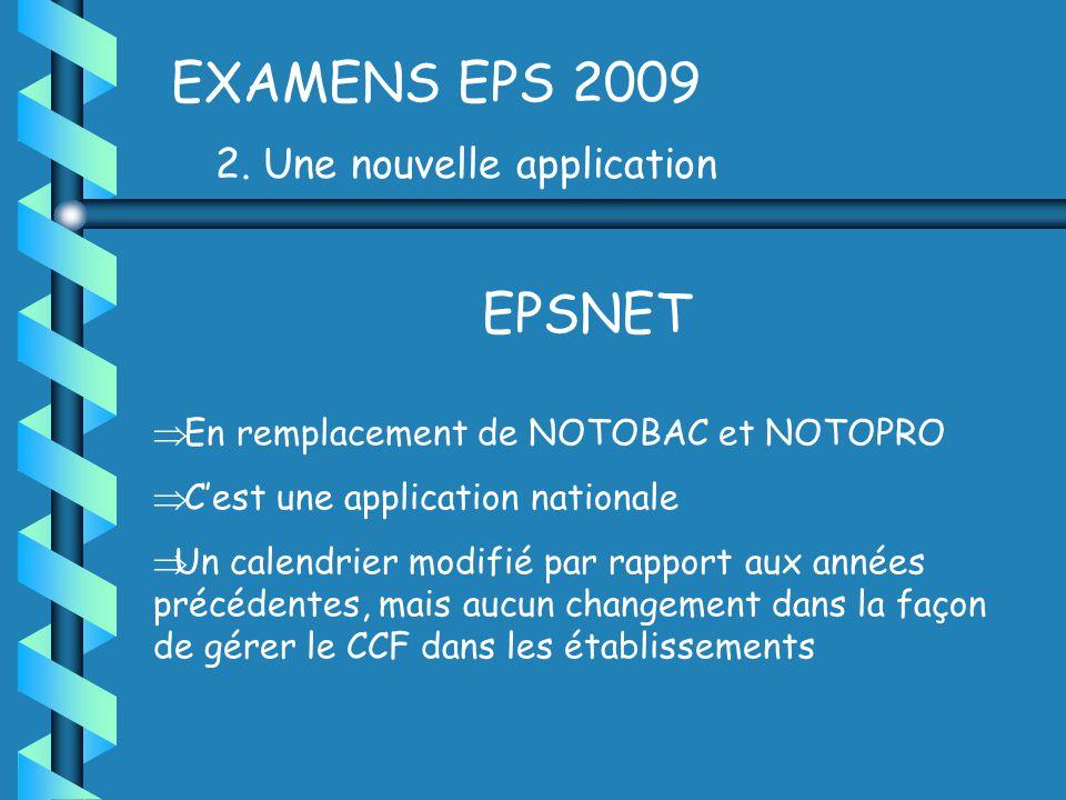 EXAMENS EPS 2009 2.
