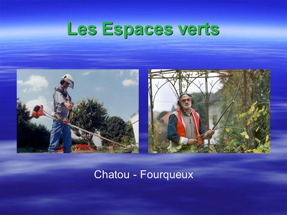Les Espaces verts Chatou - Fourqueux