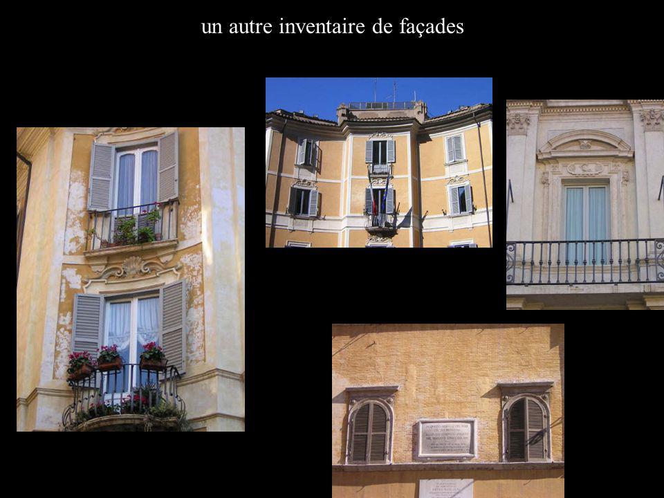 un autre inventaire de façades