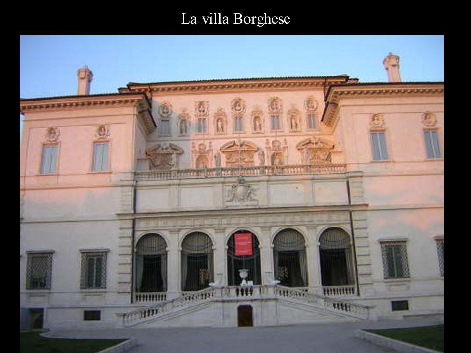La villa Borghese