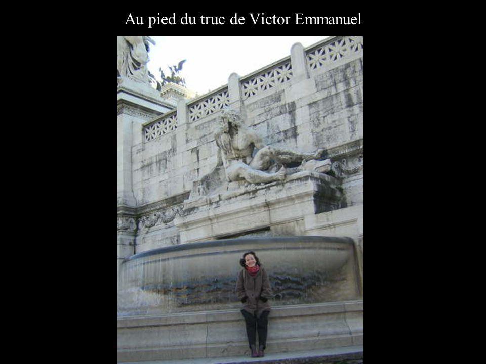 Au pied du truc de Victor Emmanuel