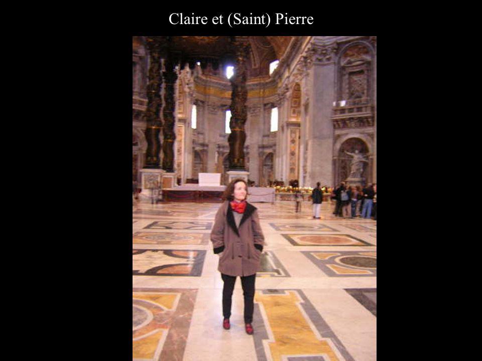 Claire et (Saint) Pierre