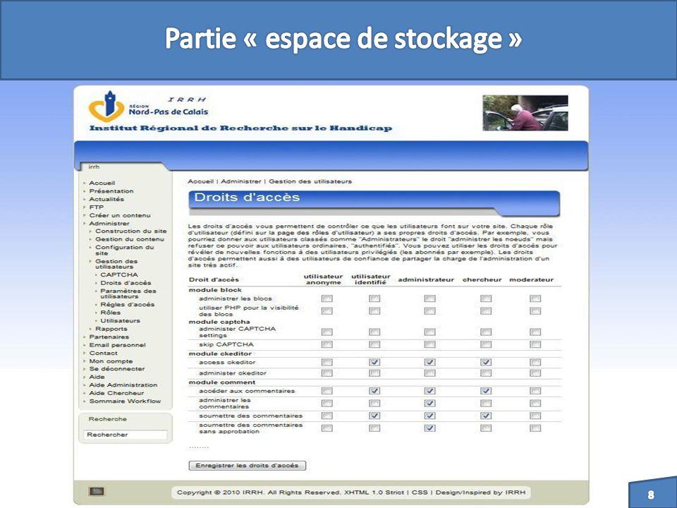 - Mettre en place un système denvoi demail entre visiteur et administrateur du site.