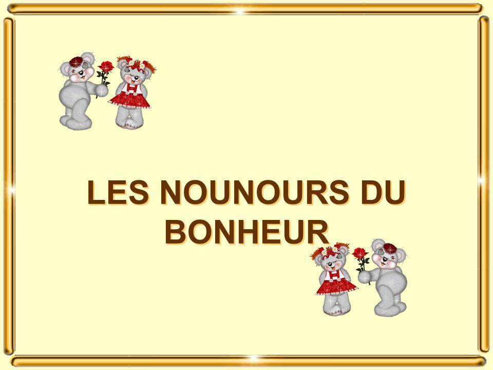 LES NOUNOURS DU BONHEUR