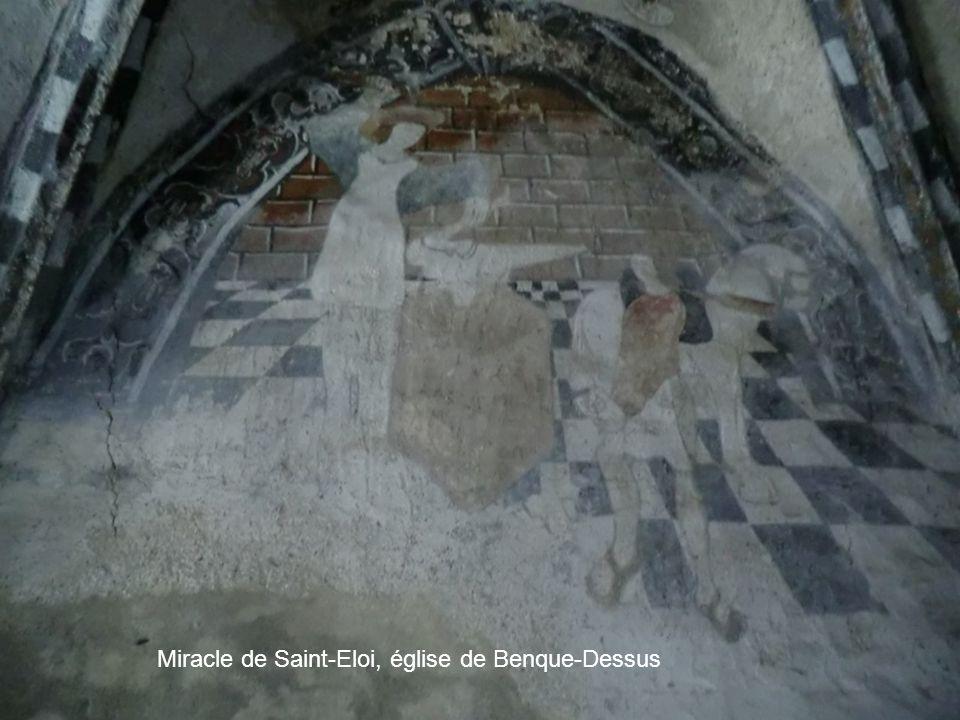 Miracle de Saint-Eloi, église de Benque-Dessus