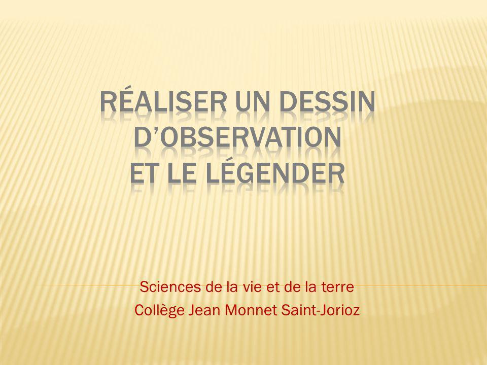 Sciences de la vie et de la terre Collège Jean Monnet Saint-Jorioz