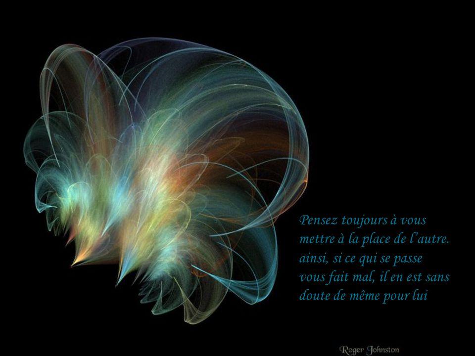 Le vrai bonheur est dans le calme de lesprit et du coeur