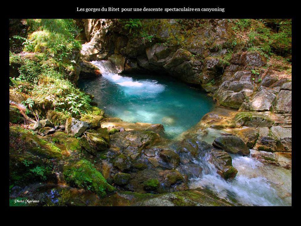 .... Les nombreux ruisseaux se transforment en torrents pour alimenter le Gave dOssau.