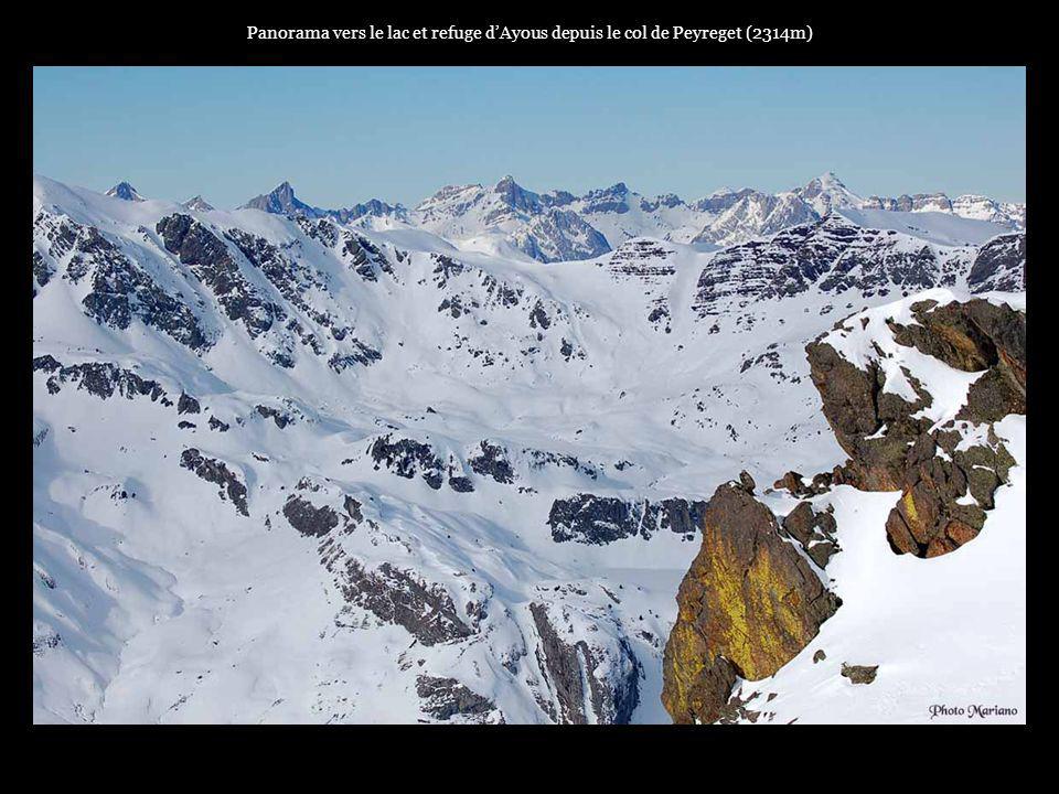 .... Panorama vers la plaine depuis le sommet du pic Sanctus 2482m (Gourette).