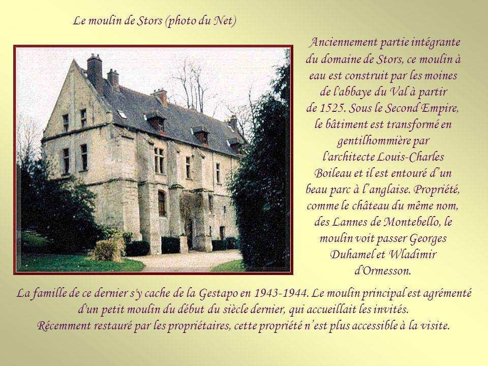 Le 24 juillet 1912, Louis de Montebello, fils de l'ancien ambassadeur de France à Saint-Pétersbourg, est touché par la foudre alors qu'il regagne, à p