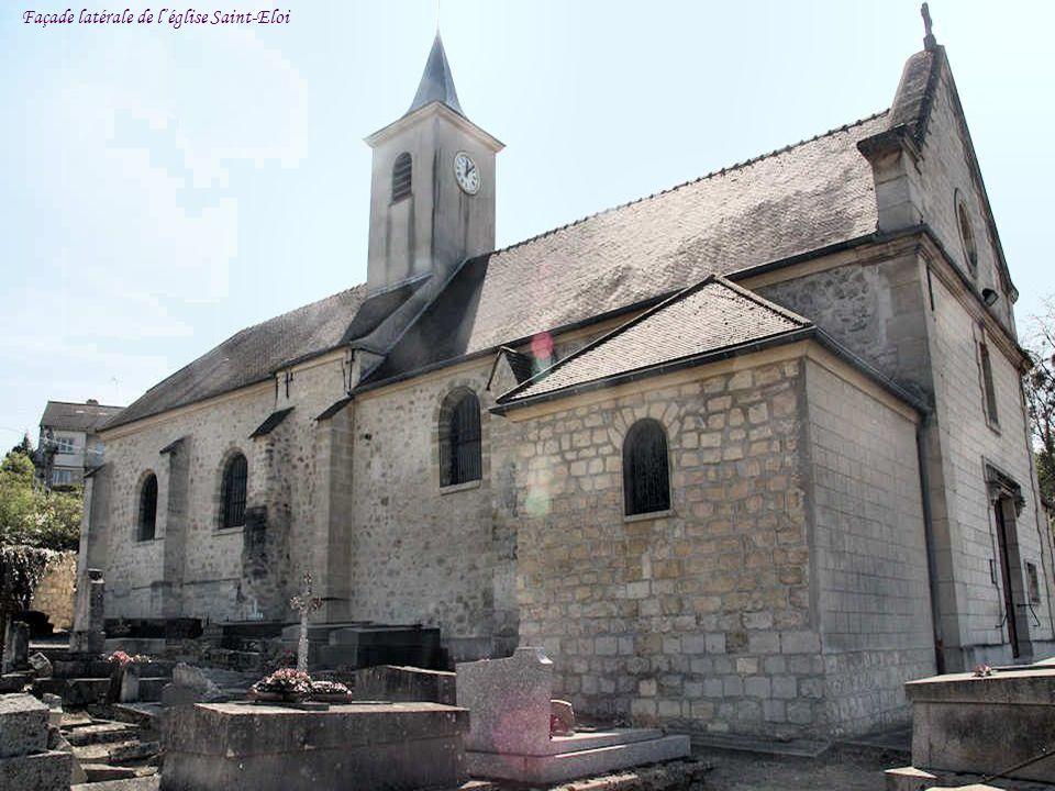 Façade latérale de léglise Saint-Eloi