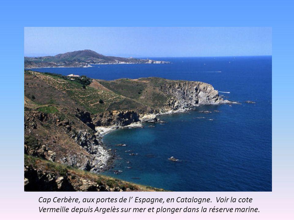 Cap Cerbère, aux portes de l Espagne, en Catalogne.