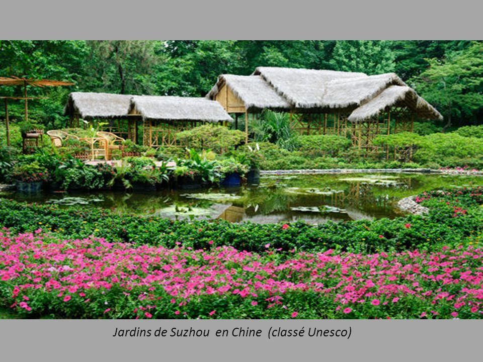 Jardins de Suzhou en Chine (classé Unesco)