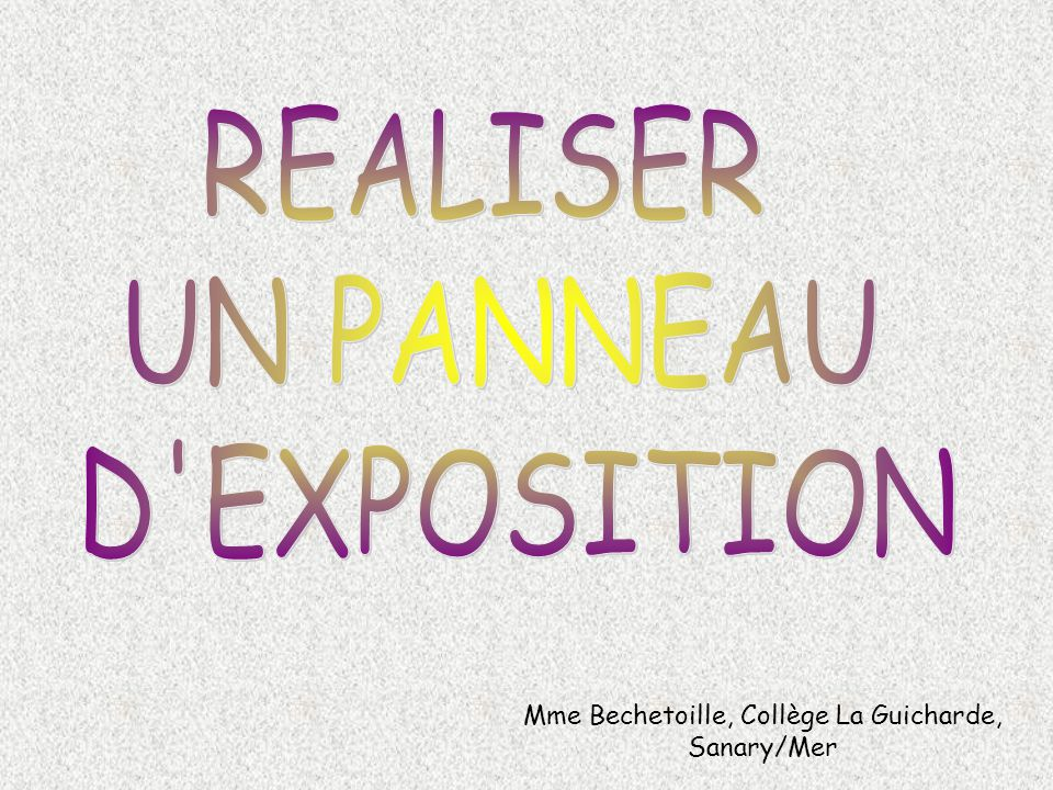 Mme Bechetoille, Collège La Guicharde, Sanary/Mer