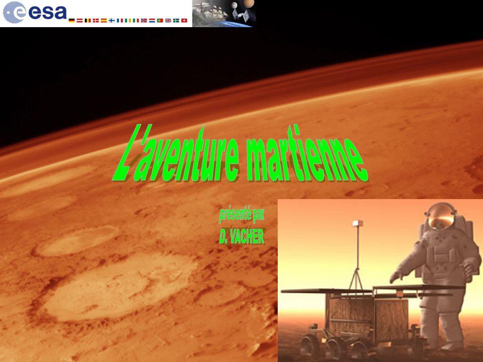 Sites intéressants http://www.esa.int http://orbitmars.futura-sciences.com http://www.nirgal.net/mars_biblio.html http://www.onera.fr http://www.cnes.fr