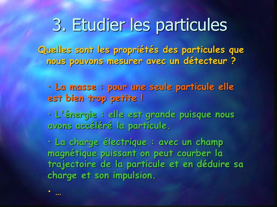 Des énergies encore jamais atteintes 7 TeV = énergie cinétique dun moustique en vol concentrée sur 1 proton ! Pour donner à un proton une énergie de 1