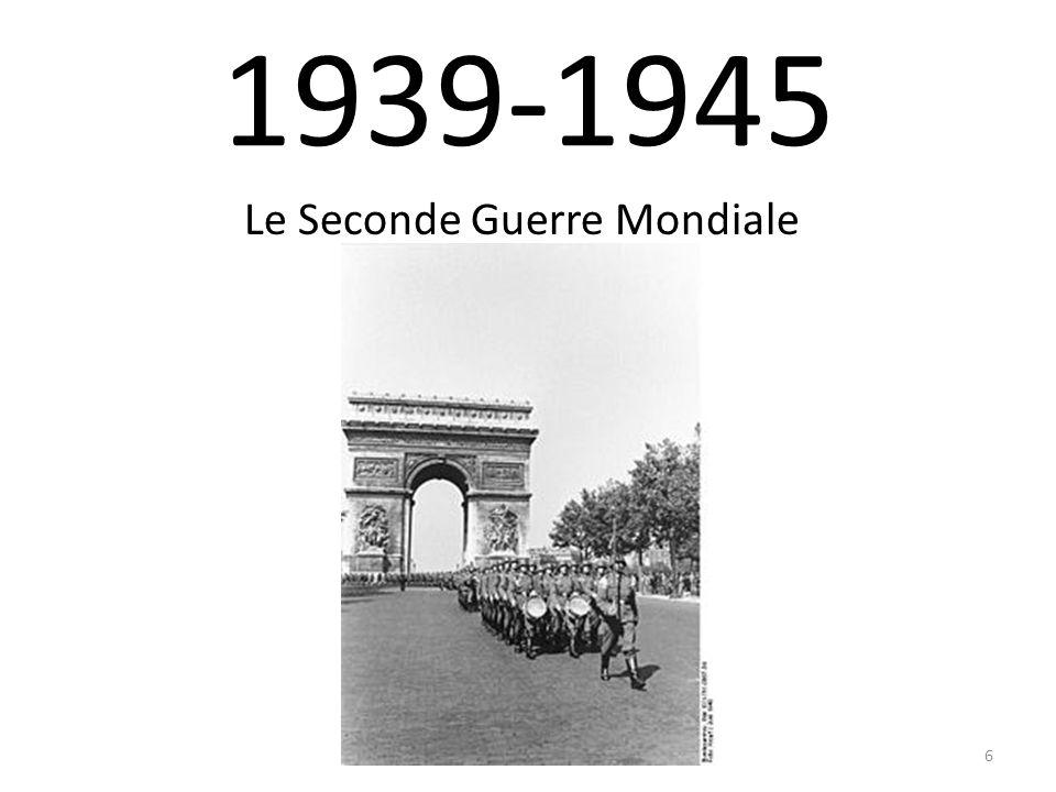 1939-1945 Le Seconde Guerre Mondiale 6