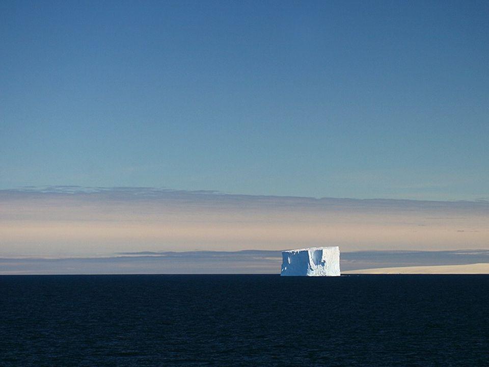 En plein été (janvier) les journées en antartique ne connaissent pas la nuit pendant les 24h du jour.