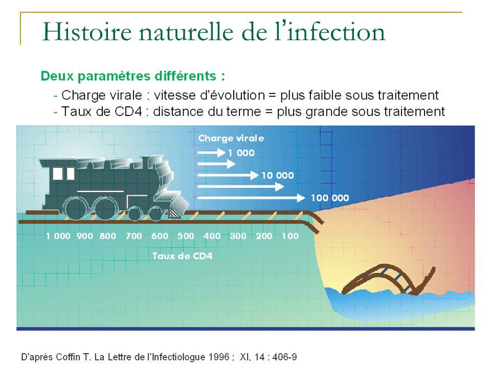 Histoire naturelle de l infection