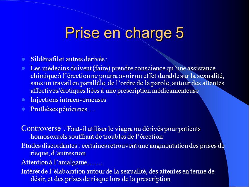 Conclusion 1 Prévalence élevée Peu dinformation concernant les femmes Retentissement sur qualité de vie, observance, conduites de prévention peu ou non évalué Nécessité de dépister, prendre en charge ces problèmes dans le cadre de la prise en charge globale des patient(e)s