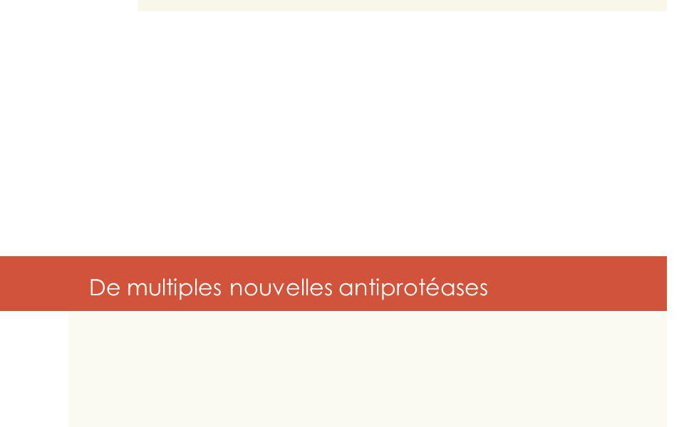 De multiples nouvelles antiprotéases