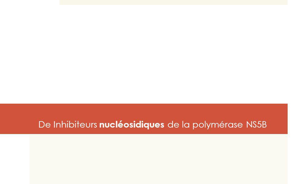 De Inhibiteurs nucléosidiques de la polymérase NS5B