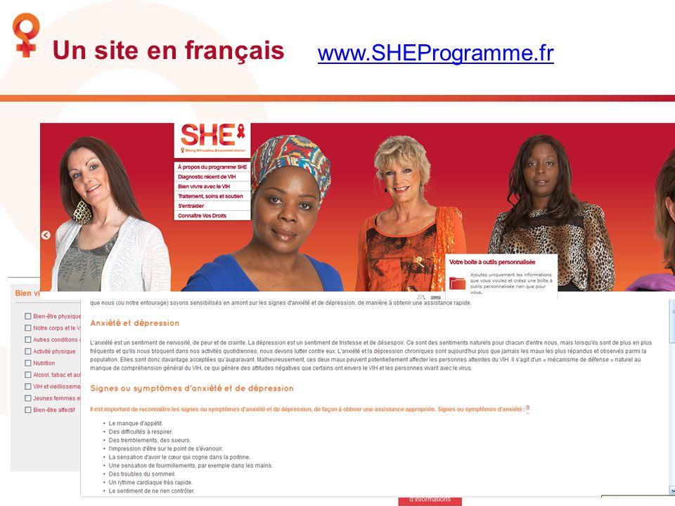 Un site en français www.SHEProgramme.fr