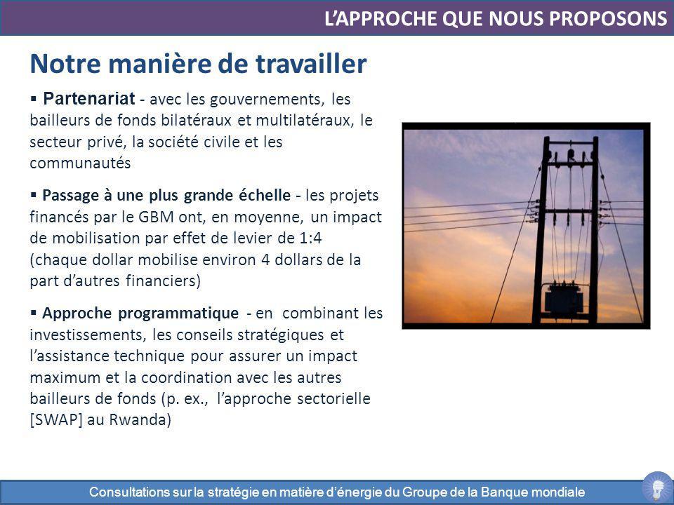 Partenariat - avec les gouvernements, les bailleurs de fonds bilatéraux et multilatéraux, le secteur privé, la société civile et les communautés Passa