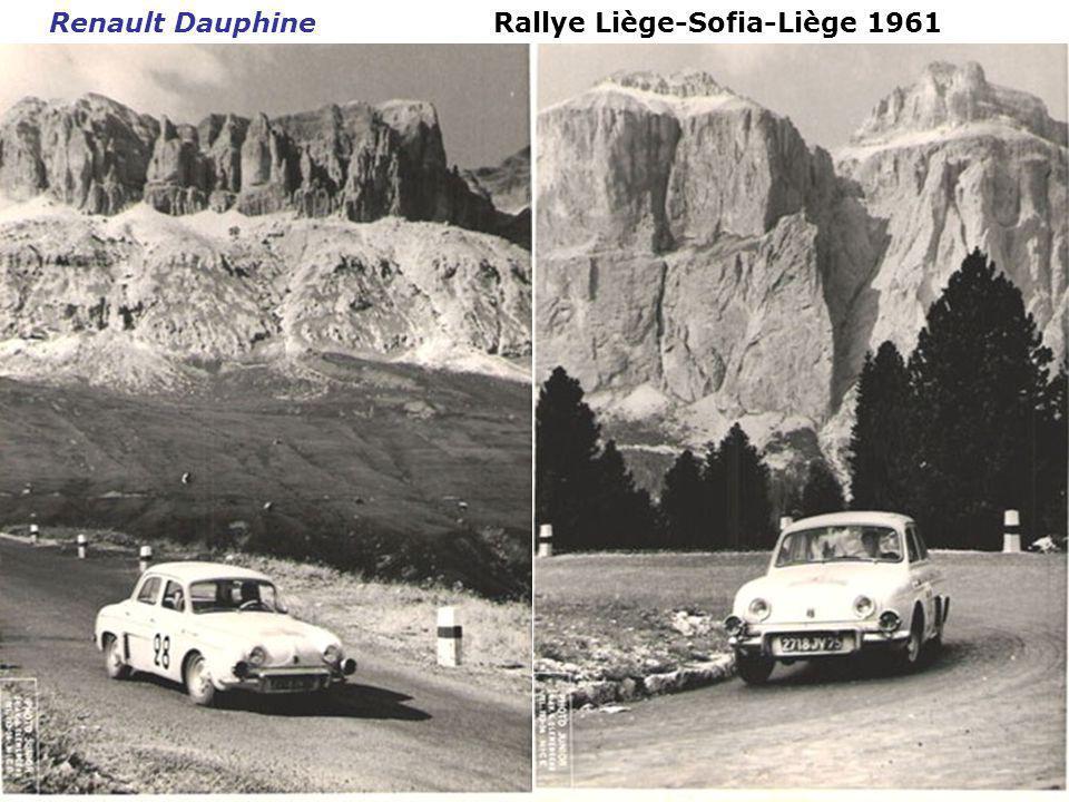 Tour de Corse 1960 Porsche 356