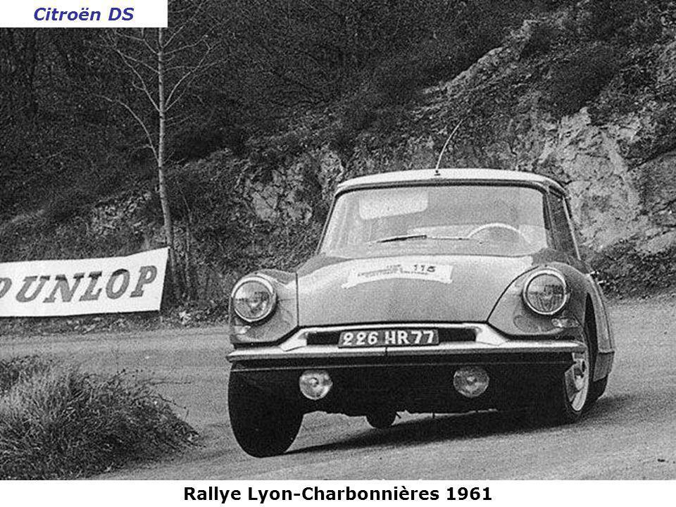 Rallye Lyon-Charbonnières 1961 Peugeot 404