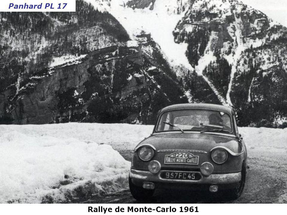 Rallye Lyon-Charbonnières 1961 Citroën DS