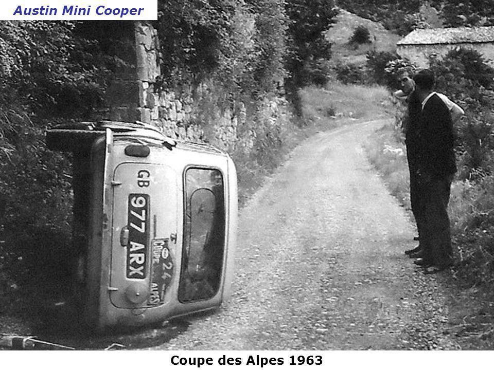 Rallye de Monte-Carlo 1961 Panhard PL 17