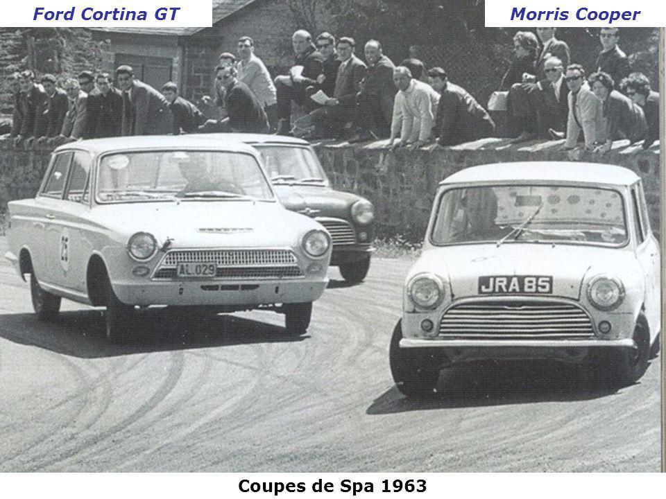 Coupe des Alpes 1963 Austin Mini Cooper