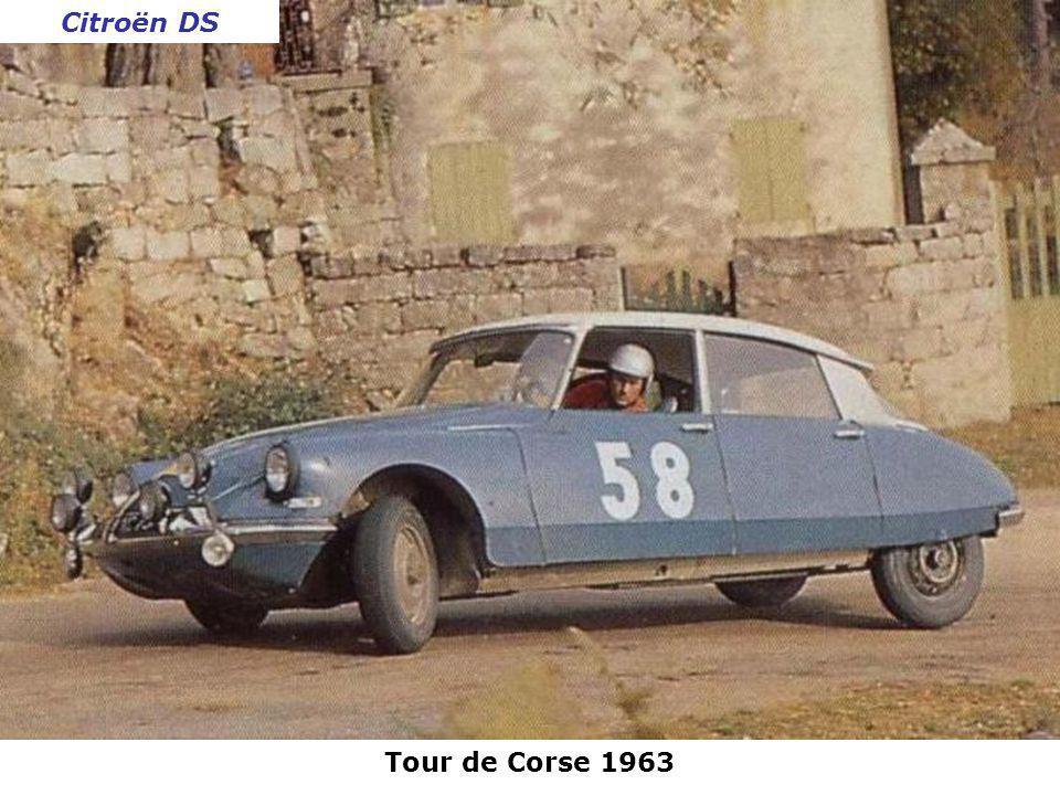 Rallye de lAcropole 1963 Mercedes 300 SE