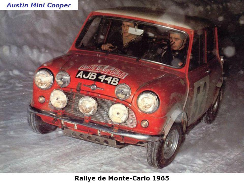 Rallye de Monte-Carlo 1964 Ford Falcon