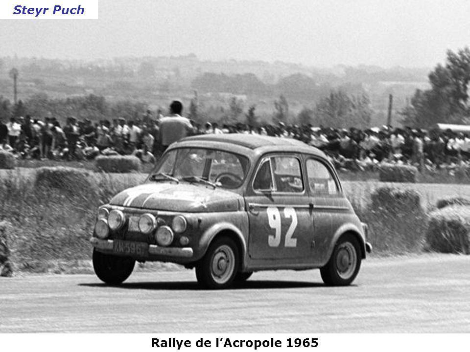 Tour de Corse 1965 Panhard 24 CT