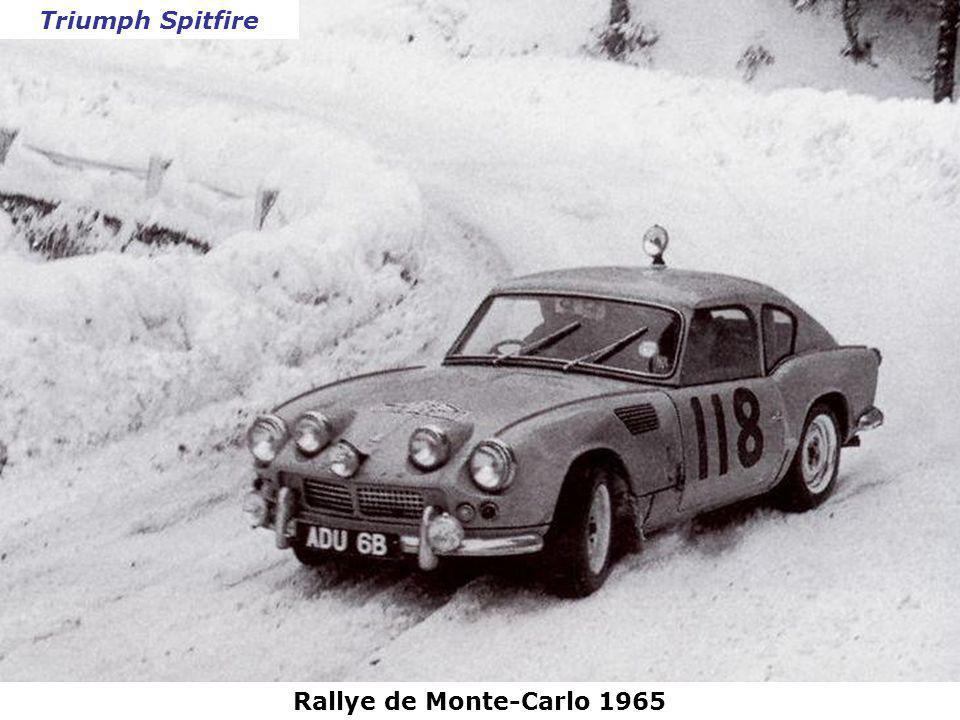 Rallye de Monte-Carlo 1965 Saab 96