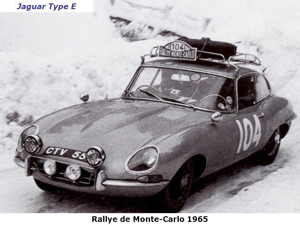 Rallye de Monte-Carlo 1965 Triumph Spitfire