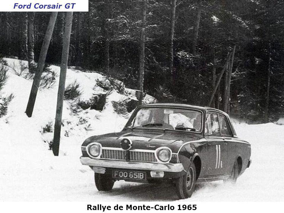Rallye de Monte-Carlo 1965 Jaguar Type E