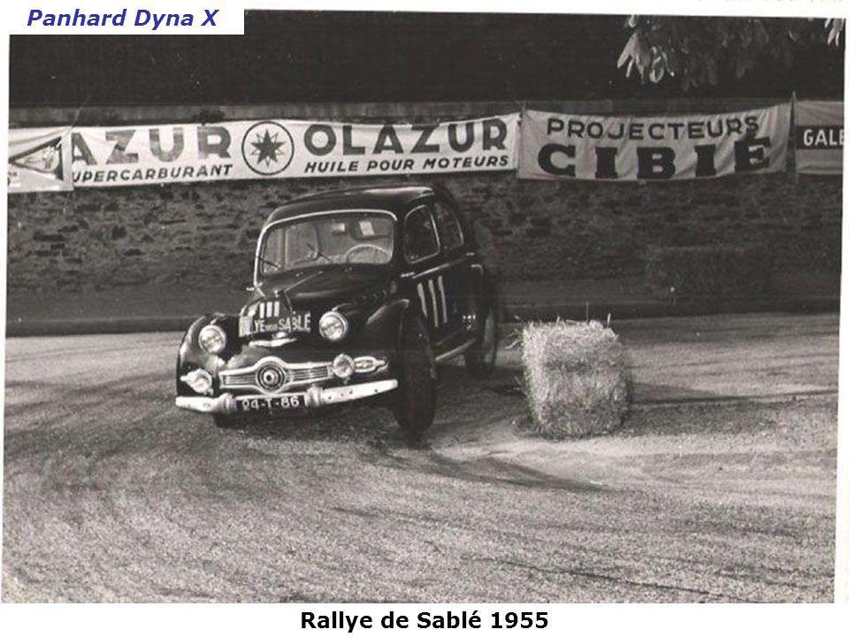 Rallye de Monte-Carlo 1954 Simca Aronde
