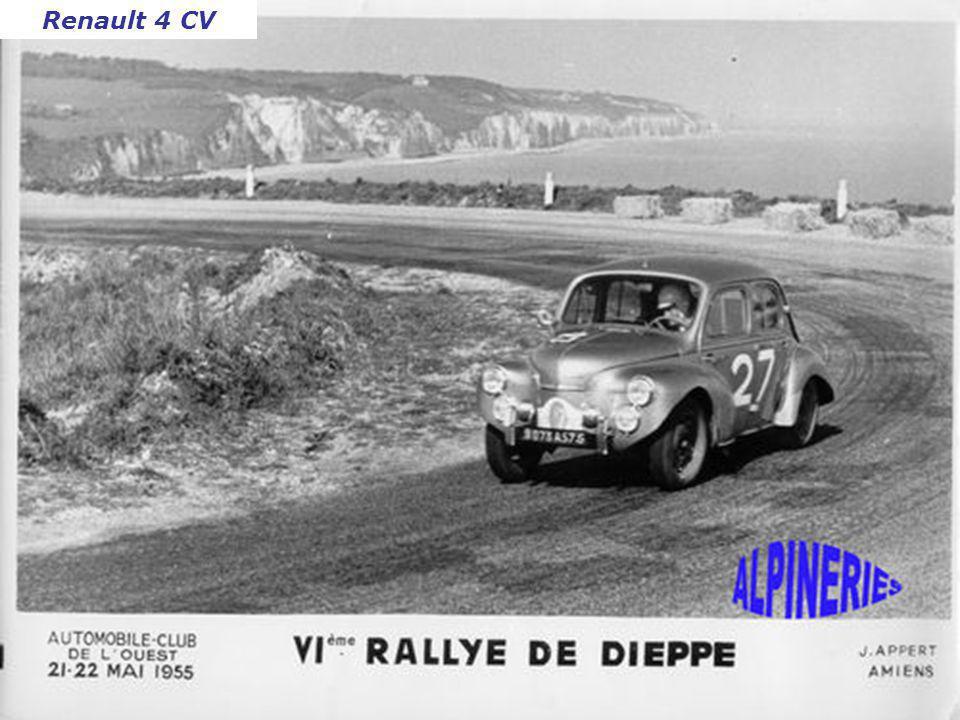 Rallye de Sablé 1955 Panhard Dyna X