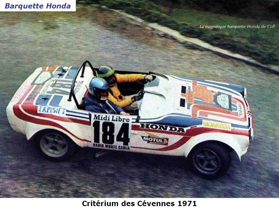 Critérium des Cévennes 1971 Ford Capri