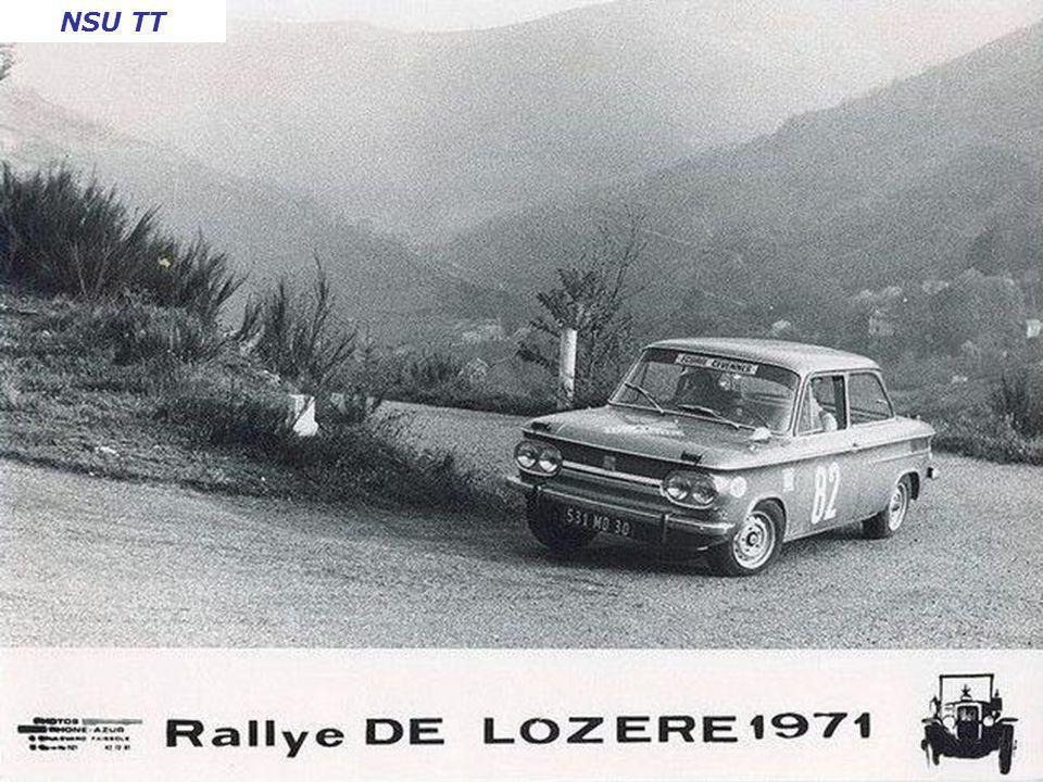 Critérium des Cévennes 1971 Barquette Honda
