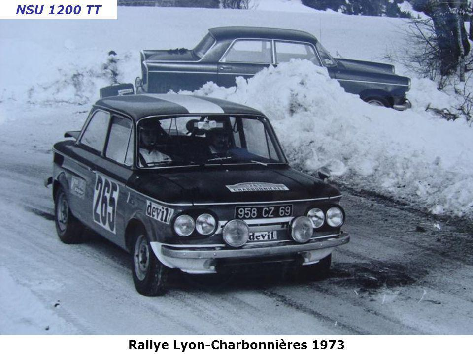 Course de côte de Poissons 1973 Ford Escort