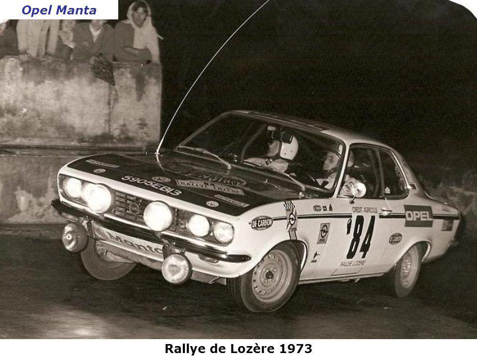 Rallye Lyon-Charbonnières 1973 NSU 1200 TT