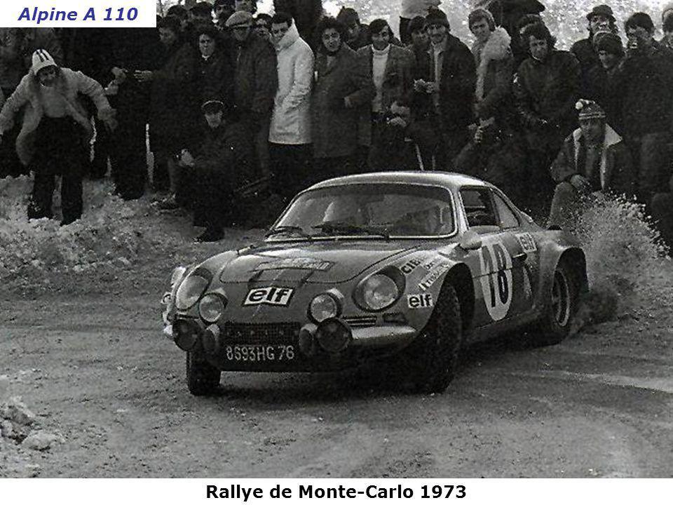 Rallye de Lozère 1973 Opel Manta