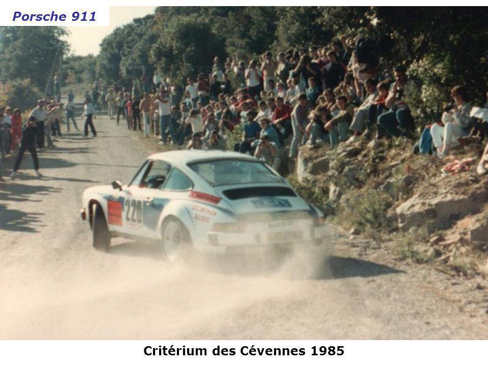 Rallye de Monte-Carlo 1982 Porsche 911 SC
