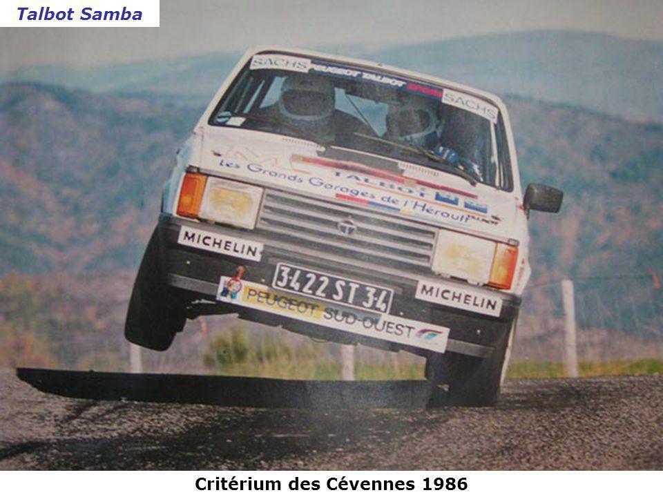 Critérium des Cévennes 1985 Porsche 911
