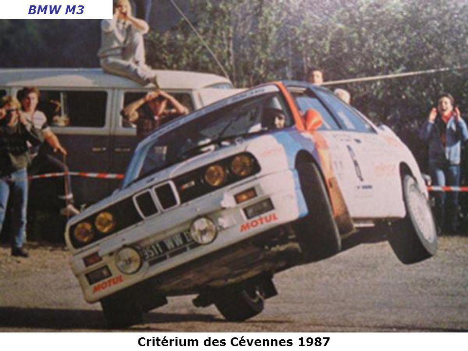 Critérium des Cévennes 1986 Talbot Samba